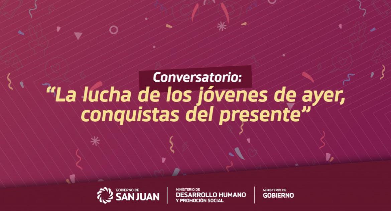 Invitamos al conversatorio para conmemorar el Día Nacional de la Juventud